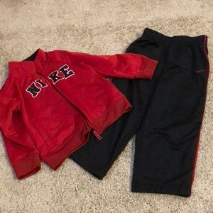 Other - Nike track jacket and matching pants